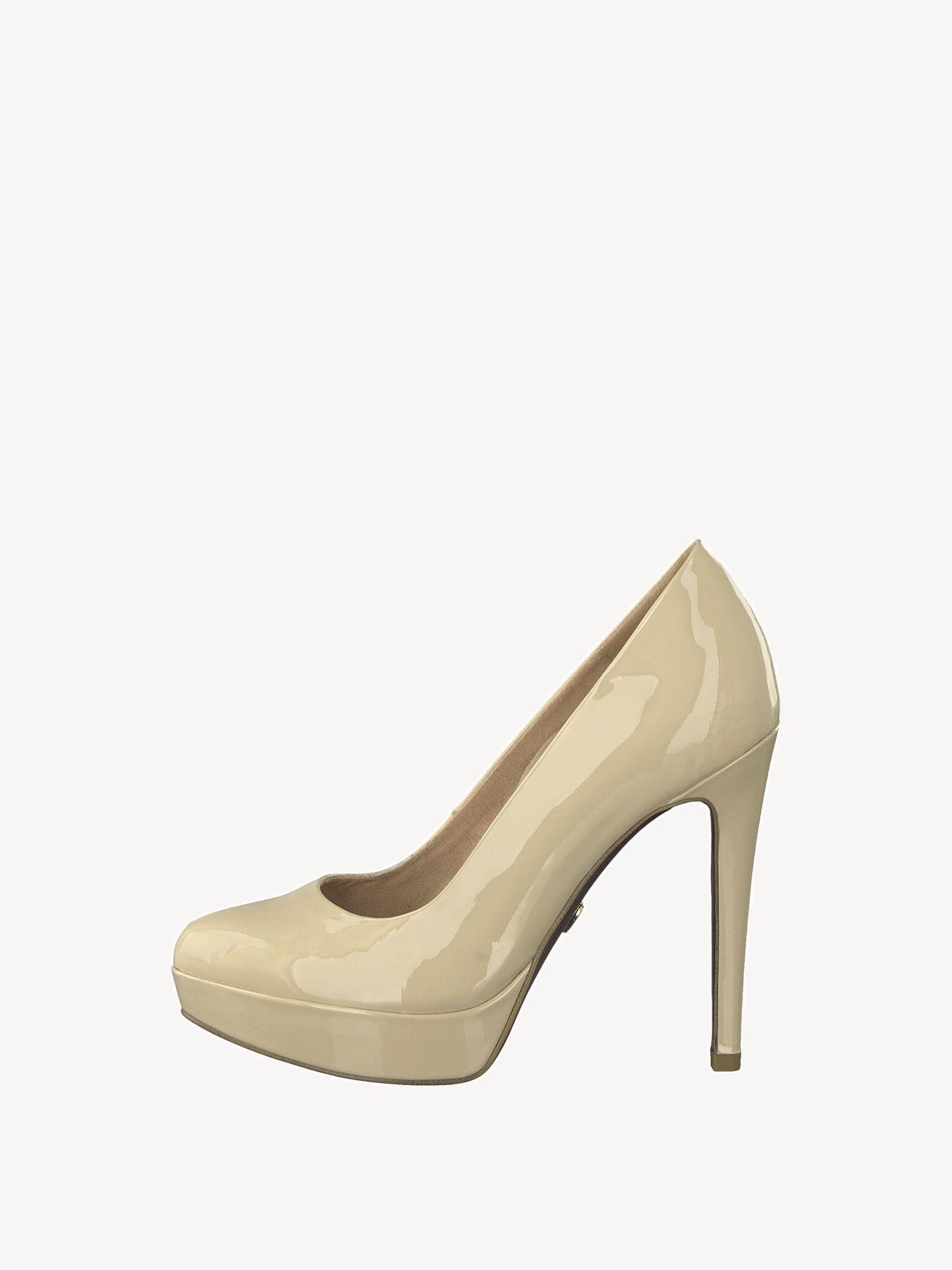 Lederpumps beige 1 1 22430 22 253 36: Tamaris High Heels