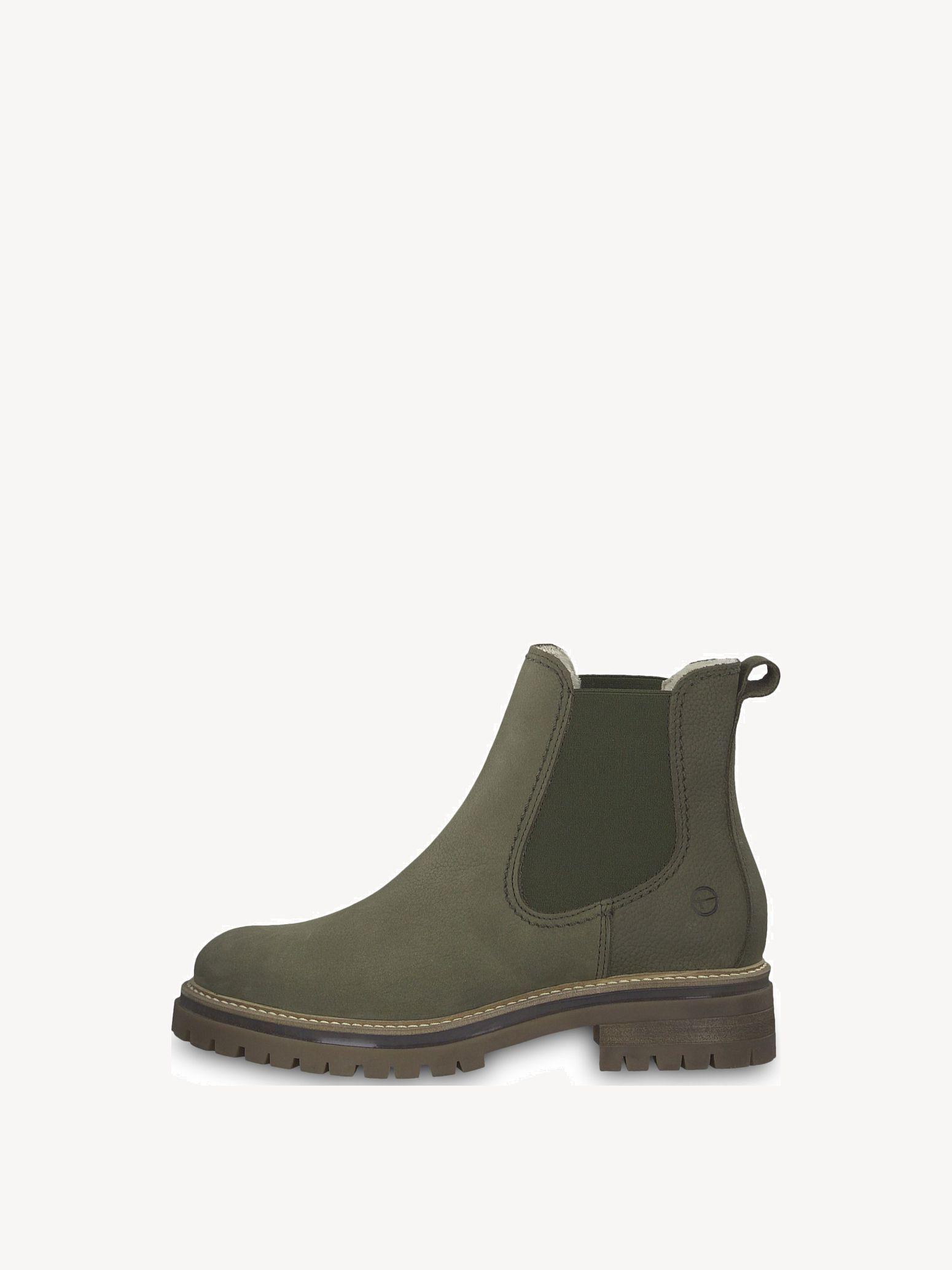 TAMARIS Lace up Boots green olive