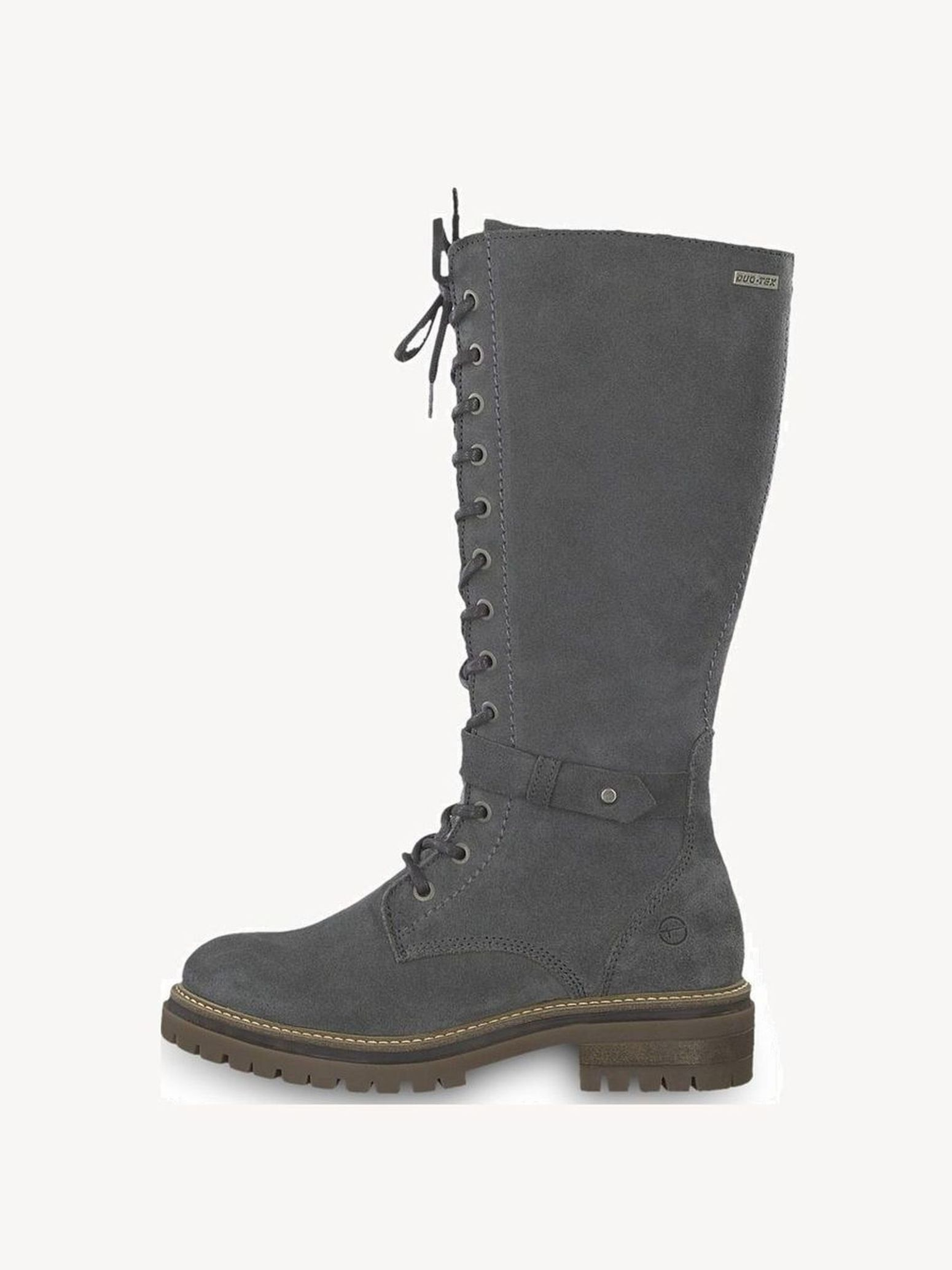 Tamaris Snow Boots grey brown leather