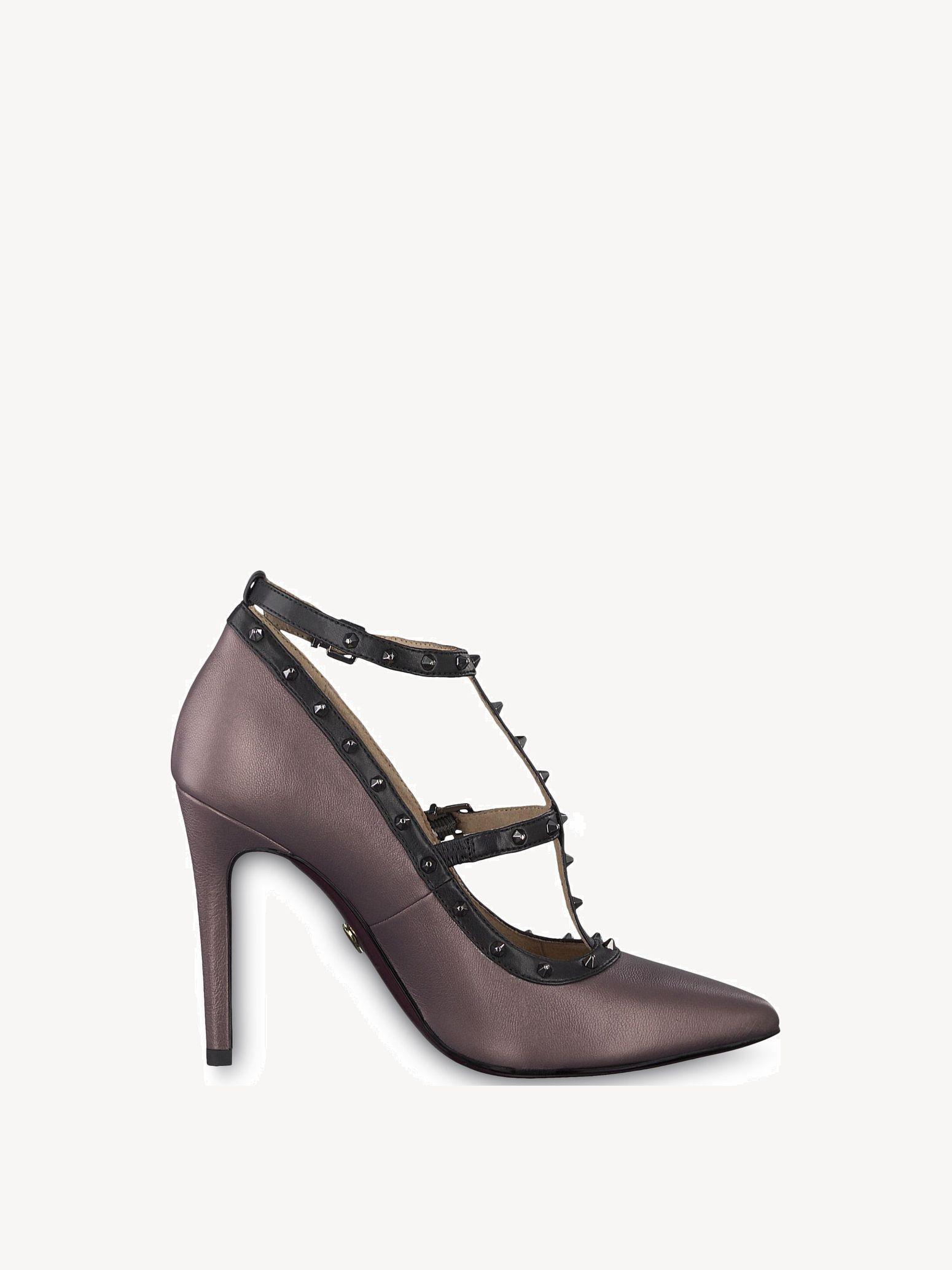 790f7bdc1f6 Leather High Heel