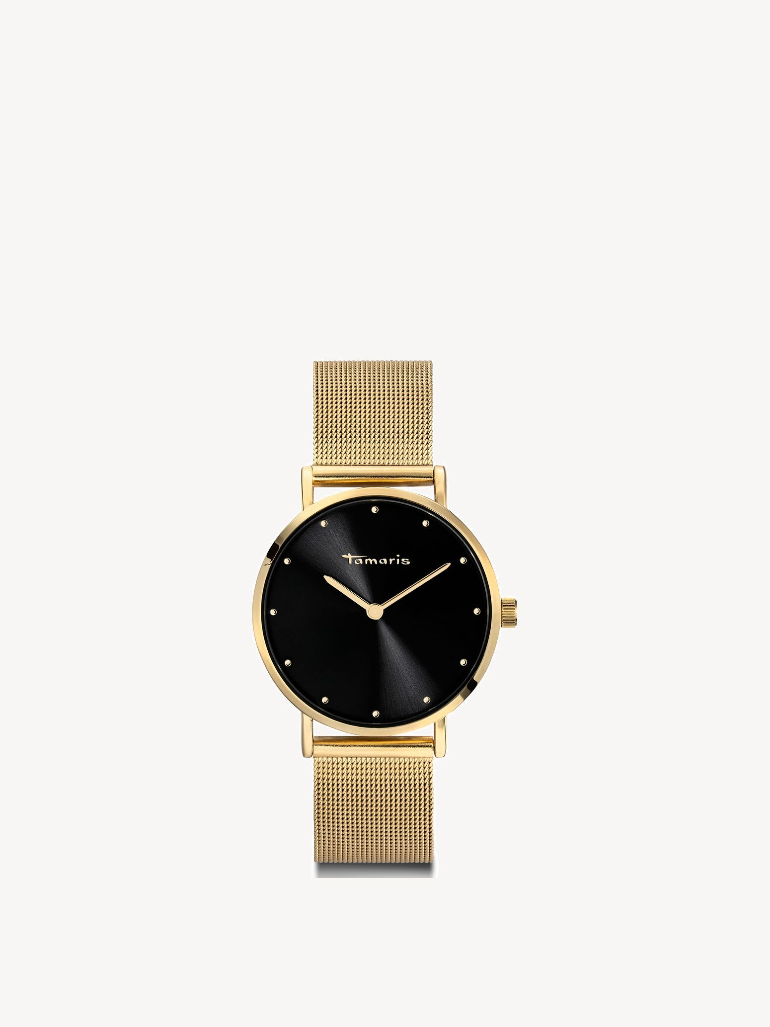 Uhr - gold, gold black, hi-res
